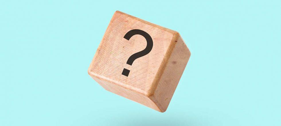 punto interrogativo a rappresentazione di una pagina di FAQ